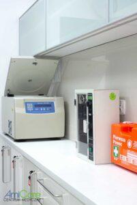 Amicare - Badania kliniczne - wyposażenie ośrodka medycyny nowoczesnej